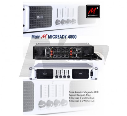 Main MICREADY 4800