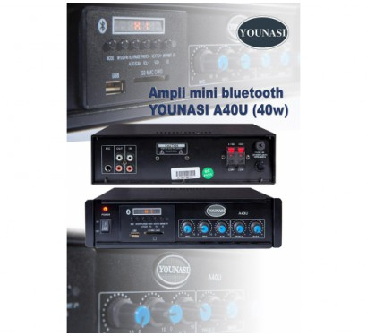 Ampli mini bluetooth YOUNASI A-40U